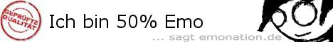 Ich bin 50% Emo!