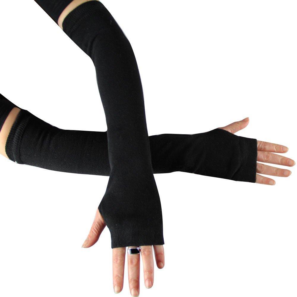 schwarze Armstulpen